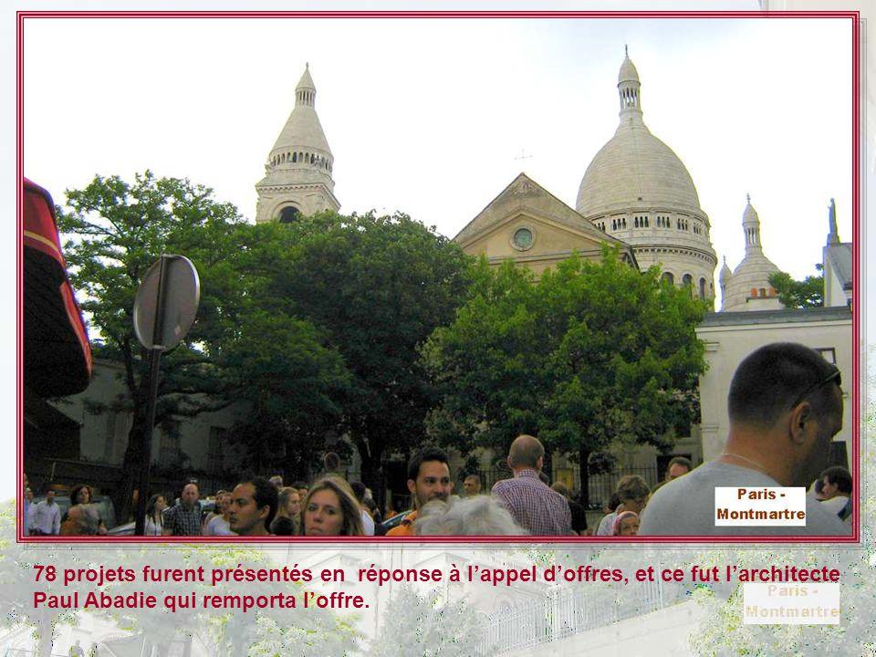 La basilique du Sacré-Cœur, dite du Vœu national, située au sommet de la butte Montmartre, est un édifice religieux parisien majeur, dont la construct