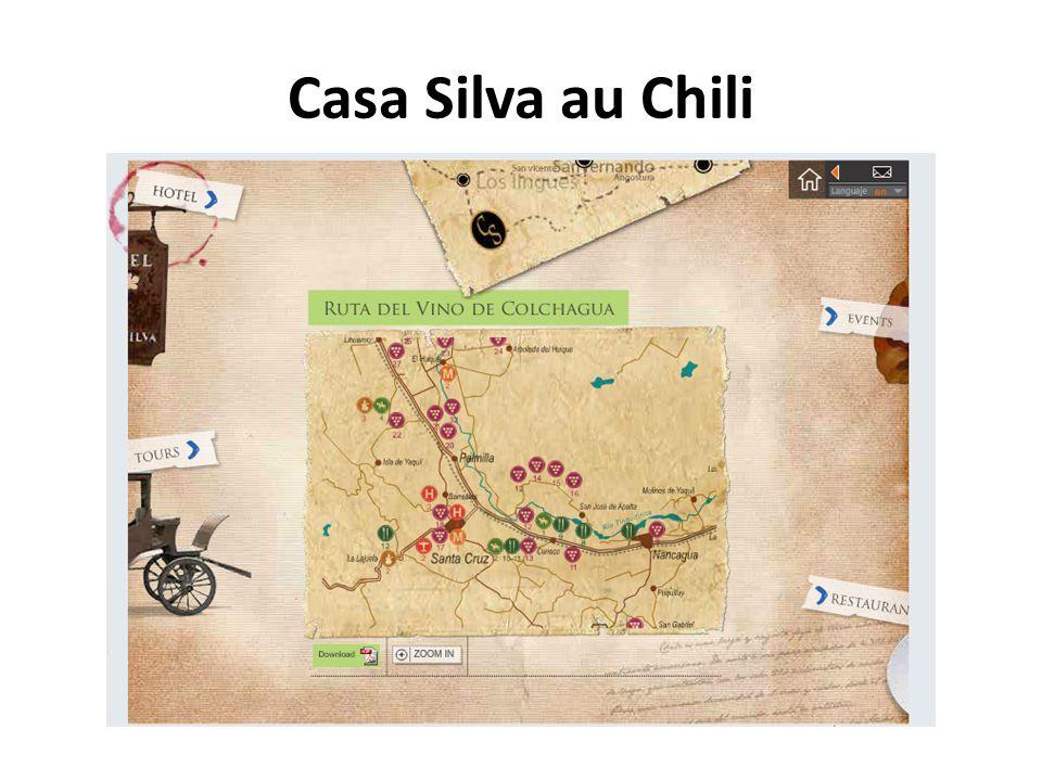 Casa Silva au Chili