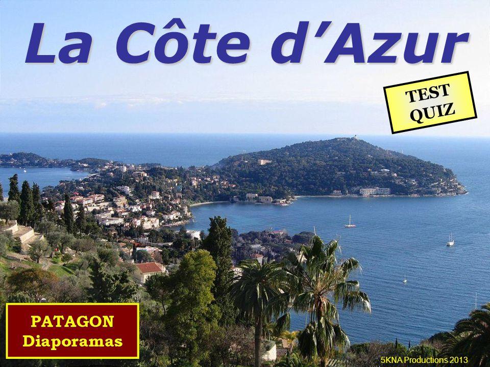 La Côte d'Azur 5KNA Productions 2013 TEST QUIZ