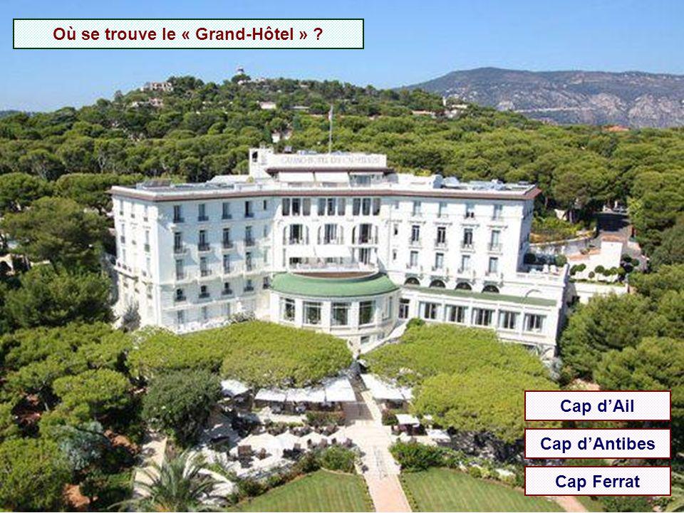 Où se trouve l'hôtel Martinez ? Antibes Cannes Nice