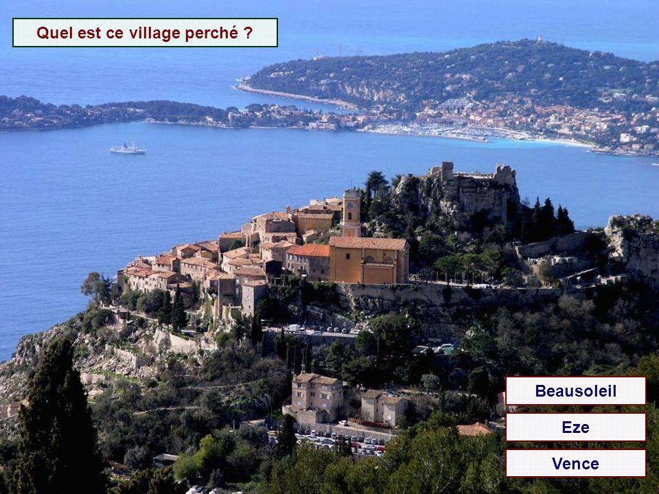 Quelle est cette ville ? Antibes Cannes Menton