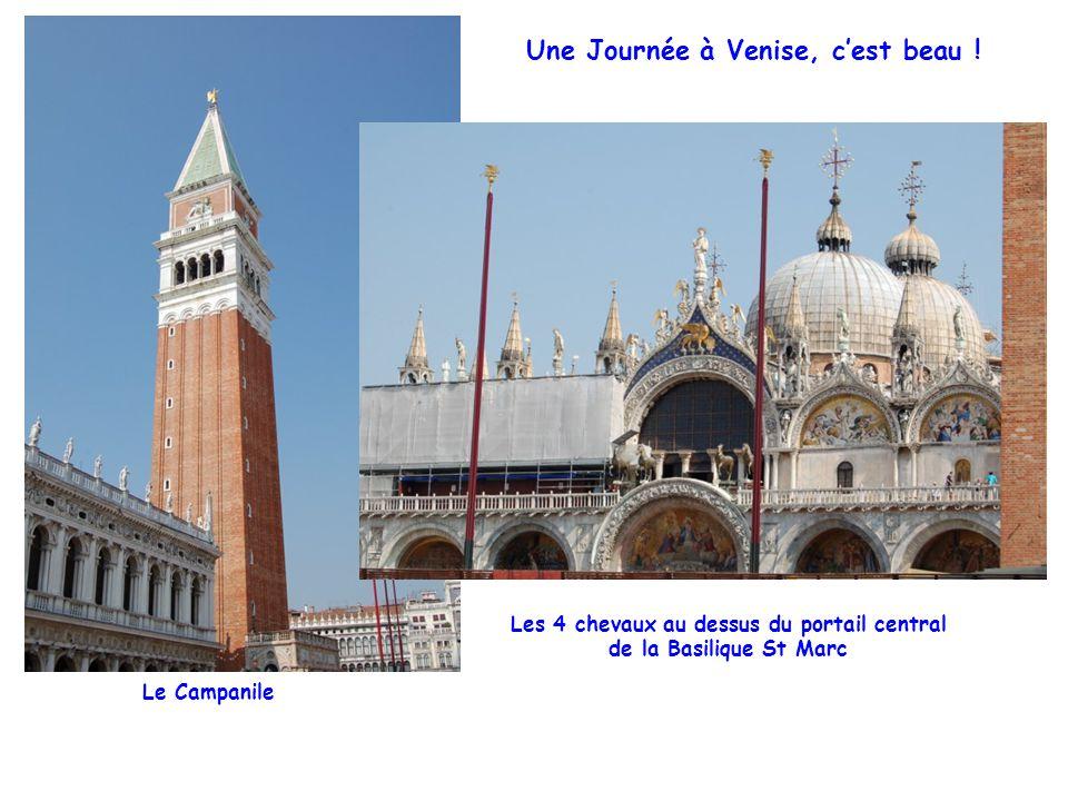 Une Journée à Venise, c'est beau .