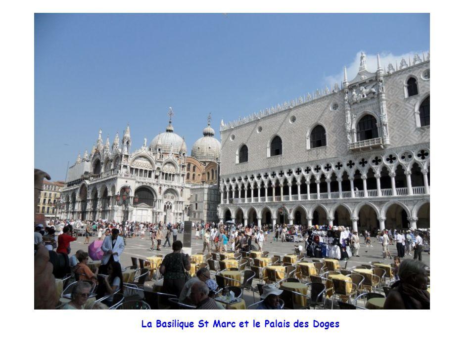La Basilique St Marc et le Palais des Doges