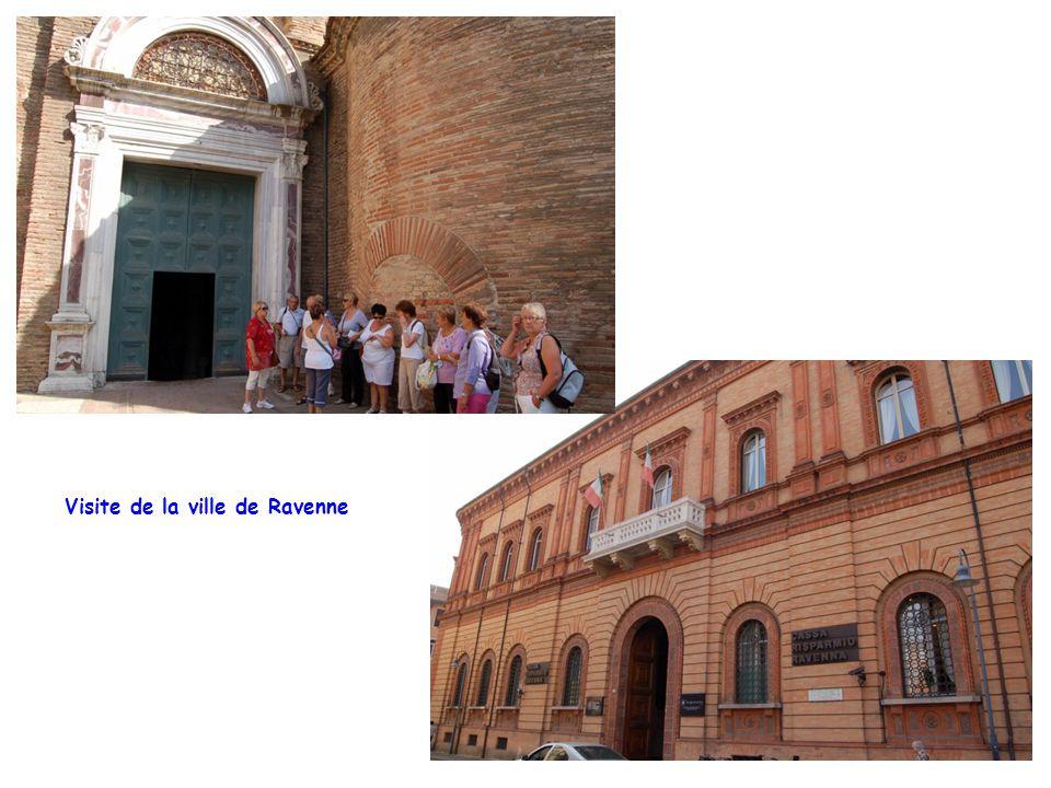 Visite de la ville de Ravenne