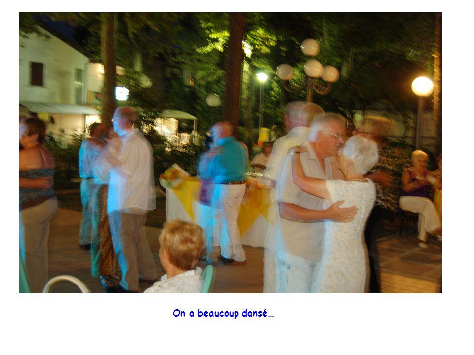 On a beaucoup dansé…
