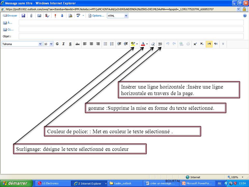 Supprimer un lien hypertexte : Supprime un lien hypertexte associé au texte sélectionné.