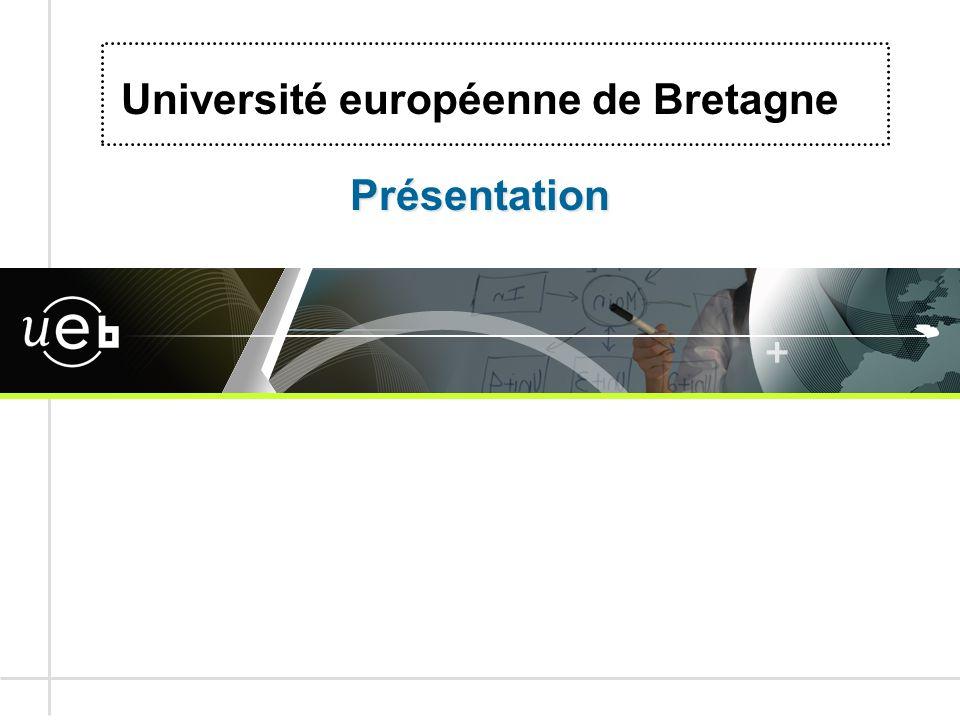 Présentation Université européenne de Bretagne Présentation