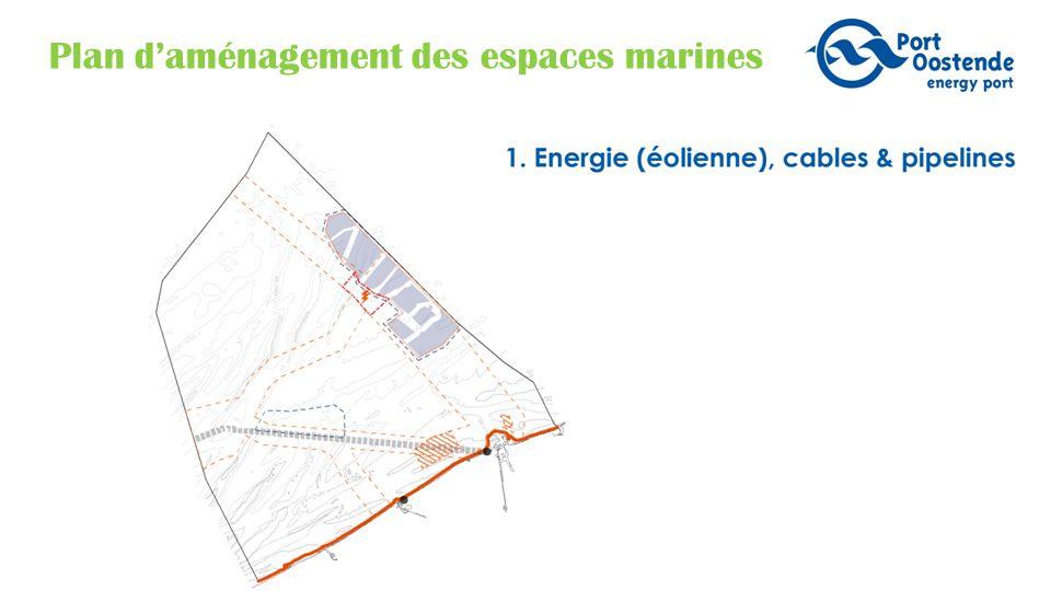 Plan d'aménagement des espaces marines