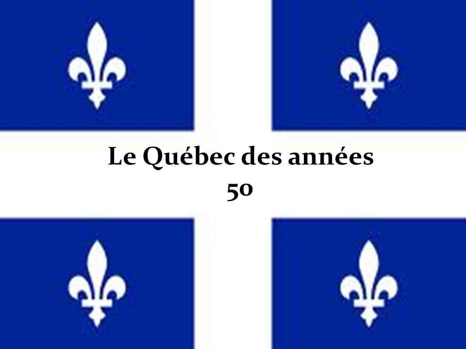 Le Québec des années 50
