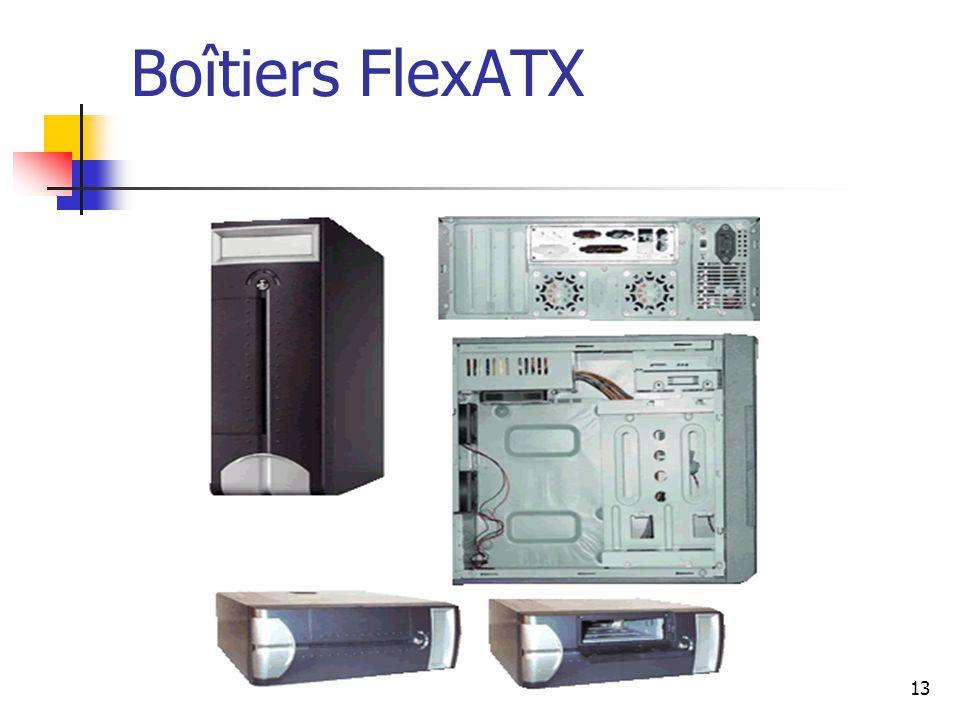 13 Boîtiers FlexATX