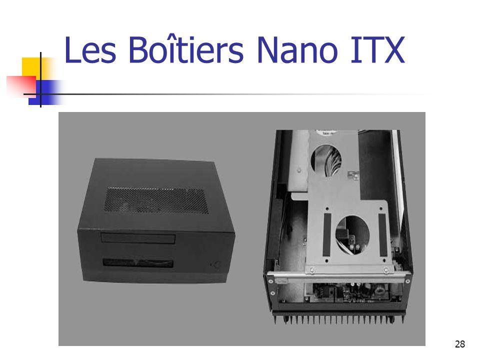28 Les Boîtiers Nano ITX