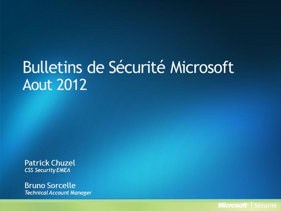 MS12-055 : Une vulnérabilité dans les pilotes en mode noyau de Windows pourrait permettre une élévation de privilèges (2731847) - Important VulnérabilitéVulnérabilité d élévation des privilègesCVE-2012-2527 Vecteurs d attaque possibles Une application spécialement conçue exécuté localement ImpactUn attaquant qui parviendrait à exploiter cette vulnérabilité pourrait exécuter du code arbitraire en mode noyau.