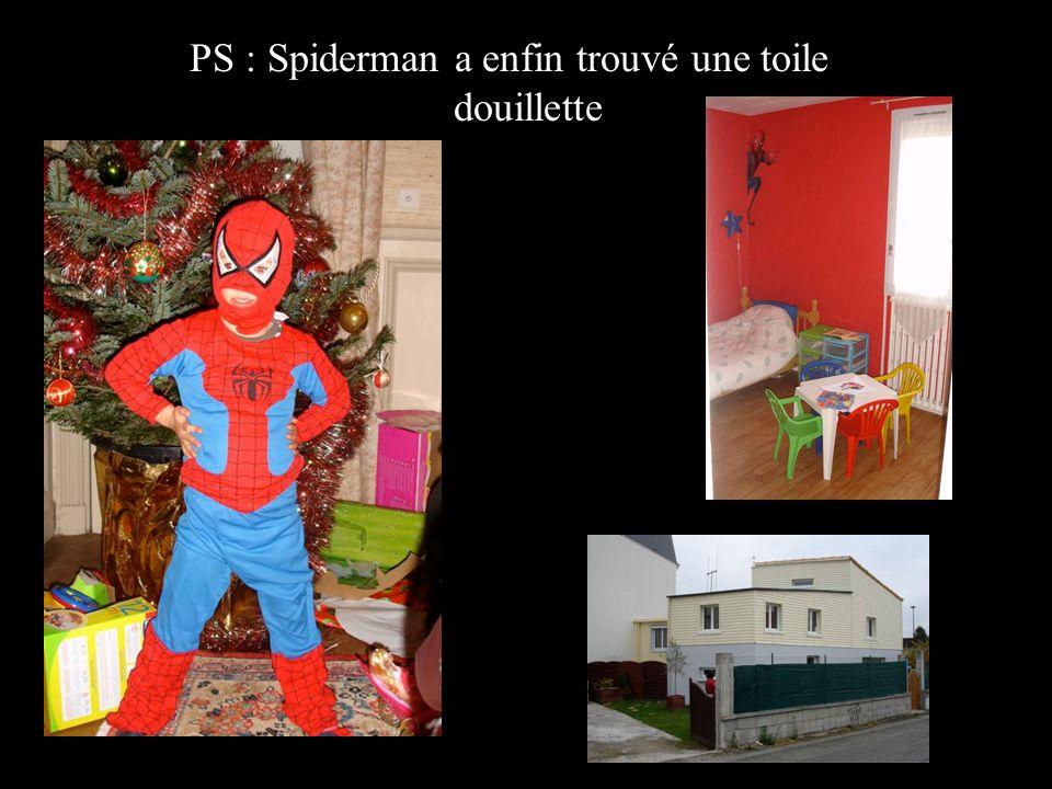PS : Spiderman a enfin trouvé une toile douillette