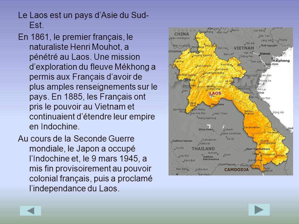 Politique linguistique Sous le protectorat français, la culture et la langue lao étaient méprisées par les Français.