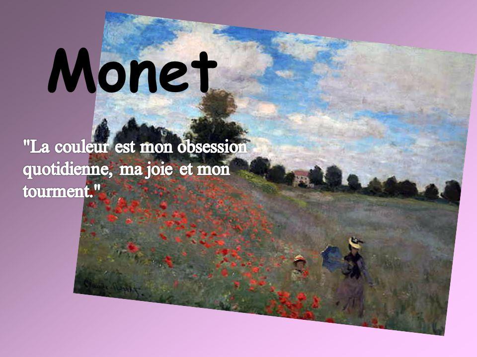 Impression, soleil levant.Claude Monet Ce tableau est à l'origine du nom: « l'impressionnisme ».