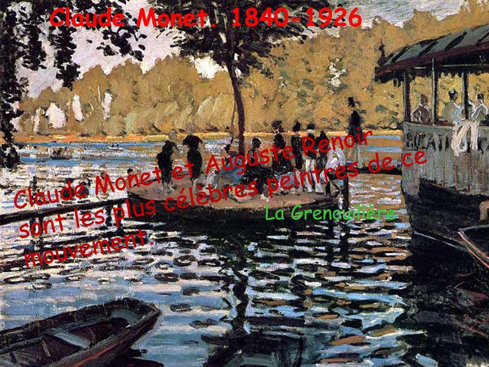 Les impressionnistes renouvellent les thèmes de la peinture, leurs tableaux reflètent le monde contemporain. C'est une véritable révolution! La gare S