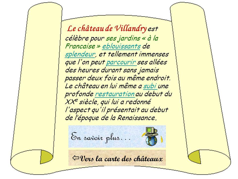 Le château de Villandry