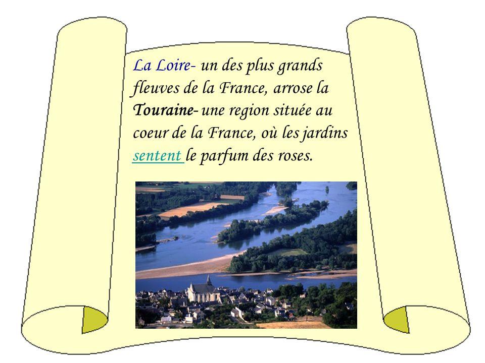 Si vous avez traversé la belle Touraine et si vous avez suivi la Loire paisible, vouspaisible regretterez de ne pouvoir déterminerdéterminer le coin o