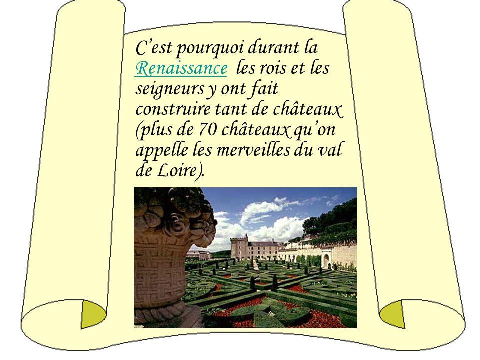 La Loire- un des plus grands fleuves de la France, arrose la Touraine- une region située au coeur de la France, où les jardins sentent le parfum des r