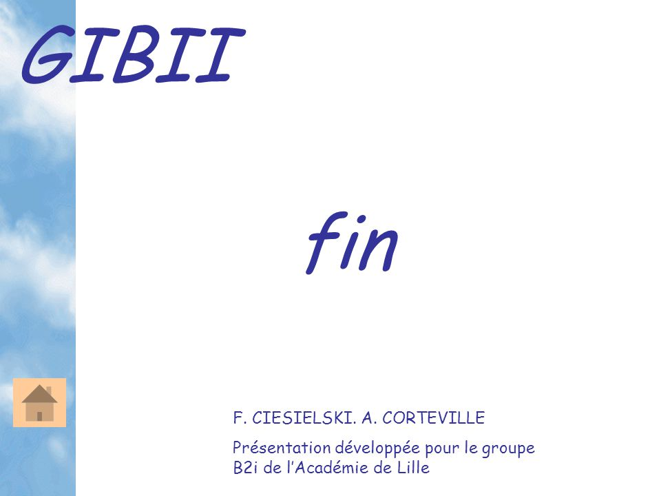 GIBII fin F. CIESIELSKI. A.
