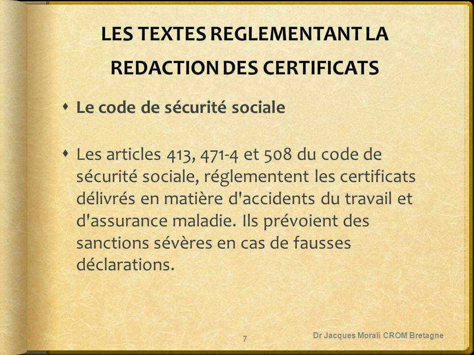 Dr Jacques Morali CROM Bretagne 38