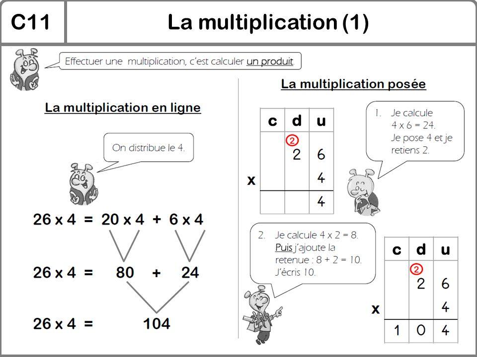 C11La multiplication (1)