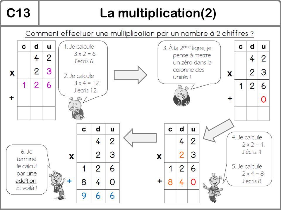 C13La multiplication(2)