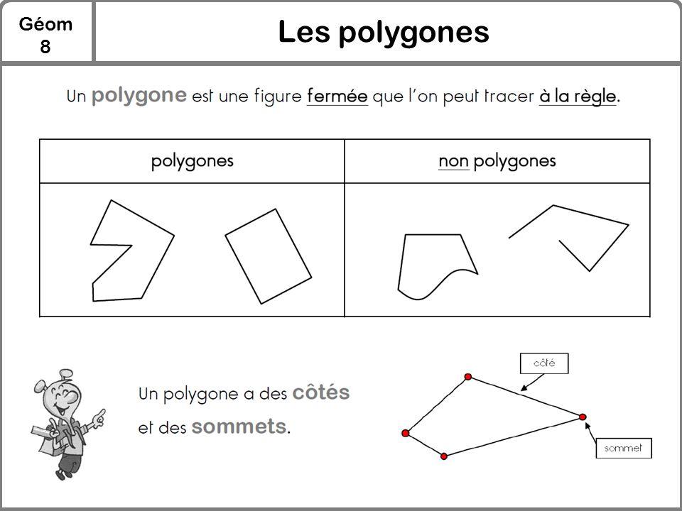 Géom 8 Les polygones