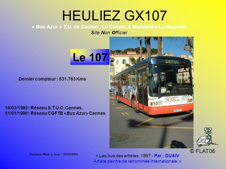 HEULIEZ GX107 © FLAT06 Le 107 « Bus Azur » T.U.
