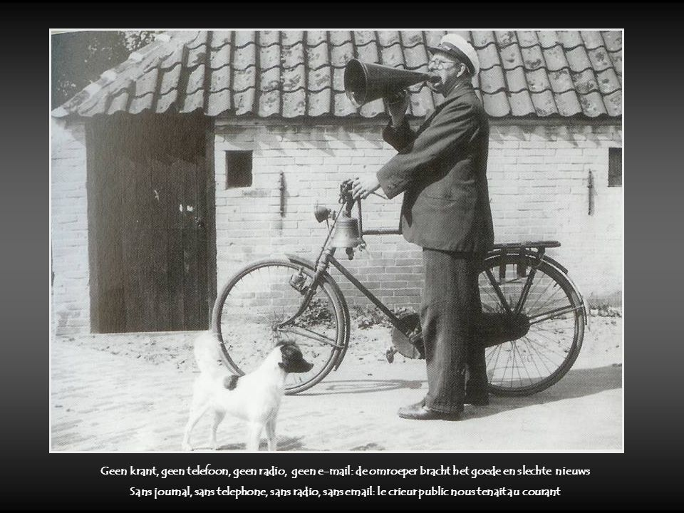 Leurders : die waren nog te vertrouwen Du porte à porte : acheter en toute confiance Boter smokkelen : een kat en muis spel Le trafic de beurre : un s