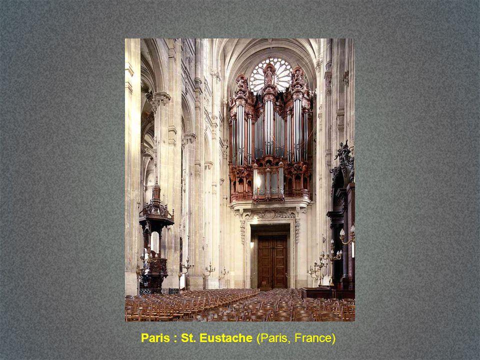 Paris : St. Sulpice (Paris, France)