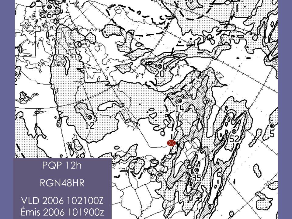PQP 12h RGN48HR VLD 2006 102100Z Émis 2006 101900z