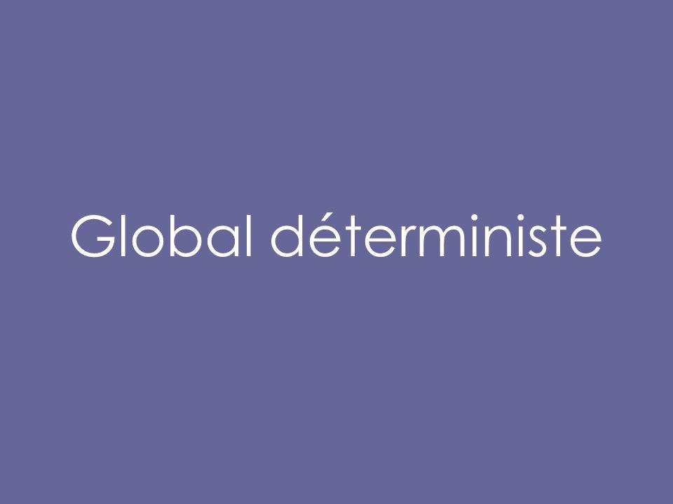 Global déterministe