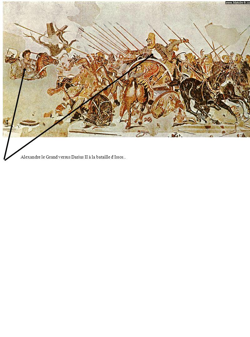 Alexandre le Grand versus Darius II à la bataille d'Issos..
