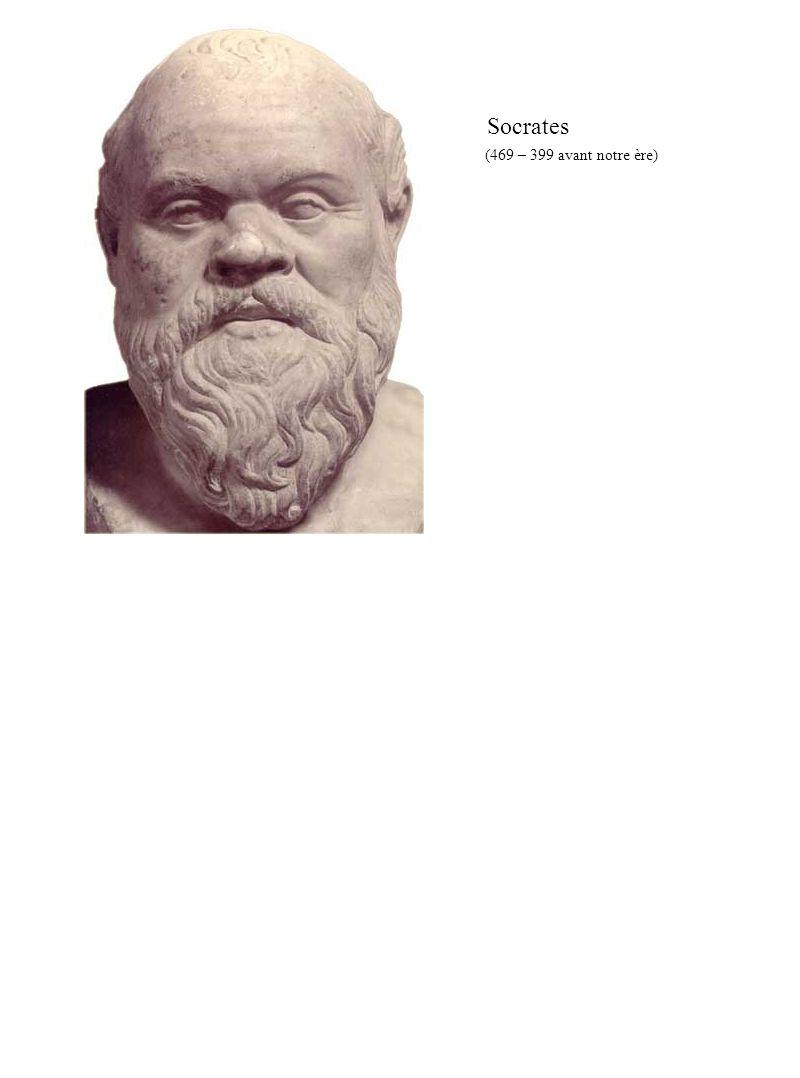 Socrates (469 – 399 avant notre ère)
