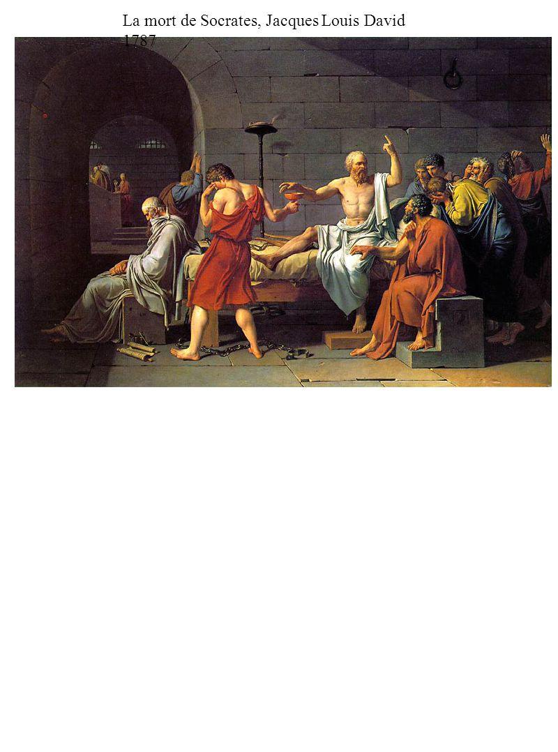 La mort de Socrates, Jacques Louis David 1787