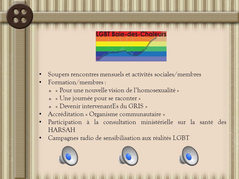110 interventions auprès de personnes LGBT : Information, accompagnement, référence, etc.