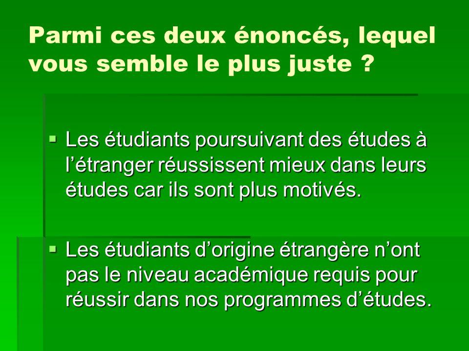 Mise en situation 5  Choc culturel  Selon vous, qui devrait accompagner Paula dans sa première session à l'Université Laval et de quelle(s) manière(s)?