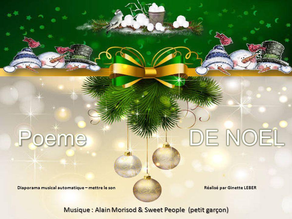 Diaporama musical automatique – mettre le son Réalisé par Ginette LEBER Musique : Alain Morisod & Sweet People (petit garçon)