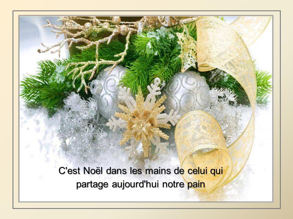 C est Noël dans le coeur de tous ceux qu on invite pour un bonheur normal