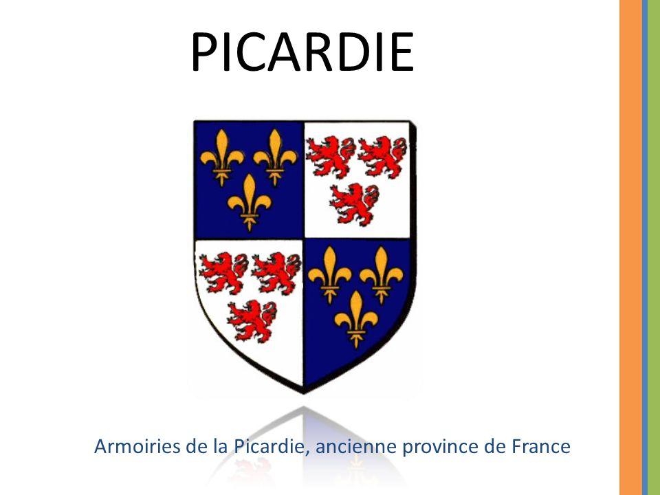 Armoiries de la Picardie, ancienne province de France PICARDIE