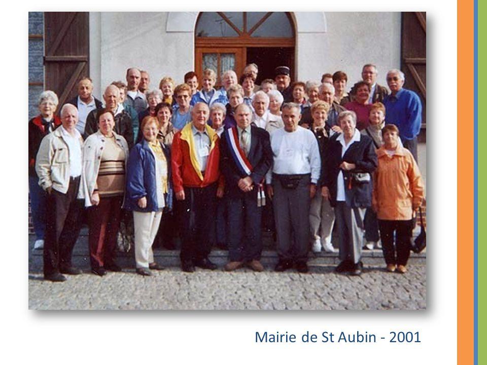 Mairie de St Aubin - 2001
