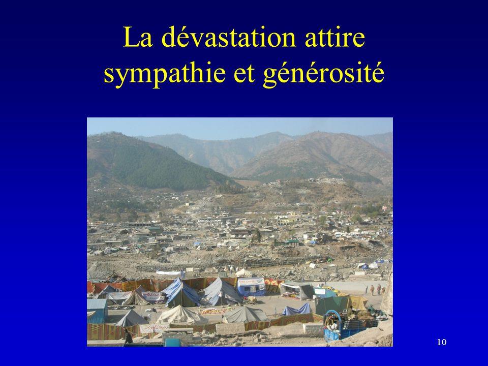 La dévastation attire sympathie et générosité 10