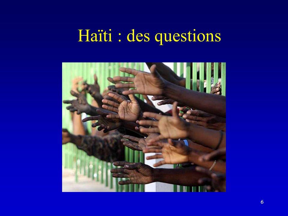 Haïti : des questions 6