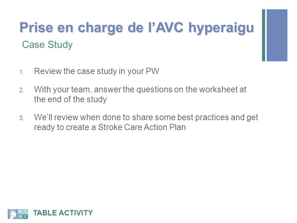 1.Review the case study in your PW 2.