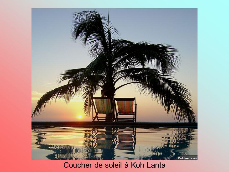 Coucher de soleil à Koh Lanta