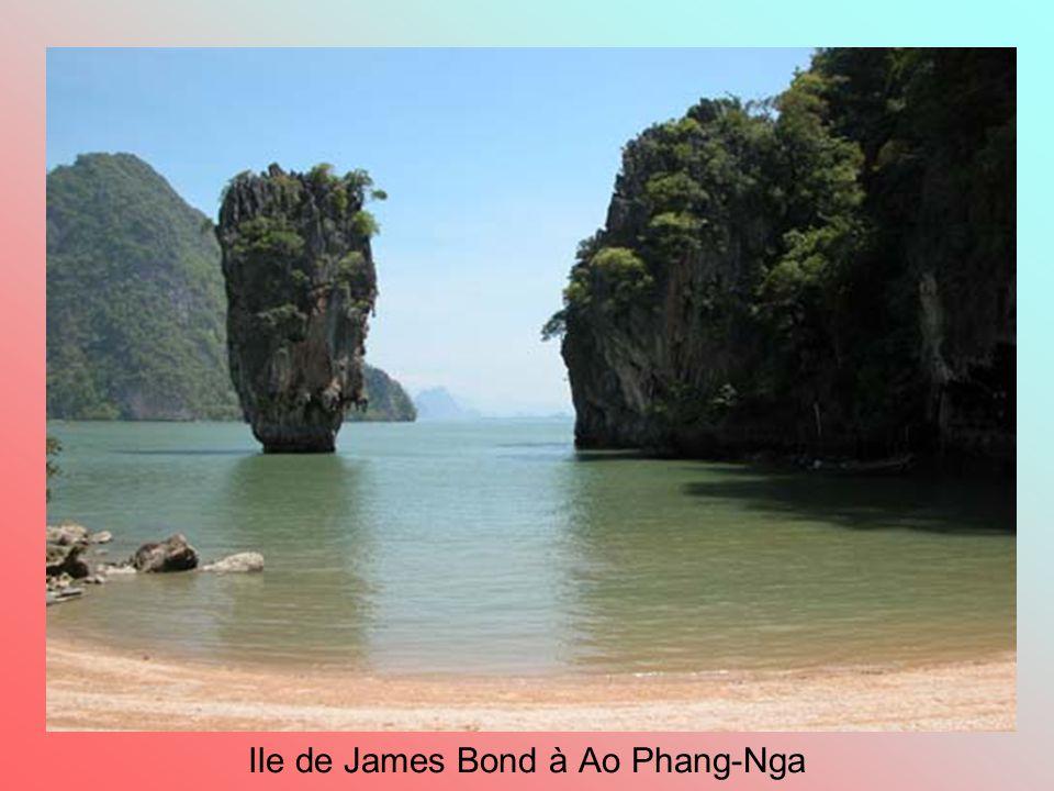Ile de James Bond à Ao Phang-Nga