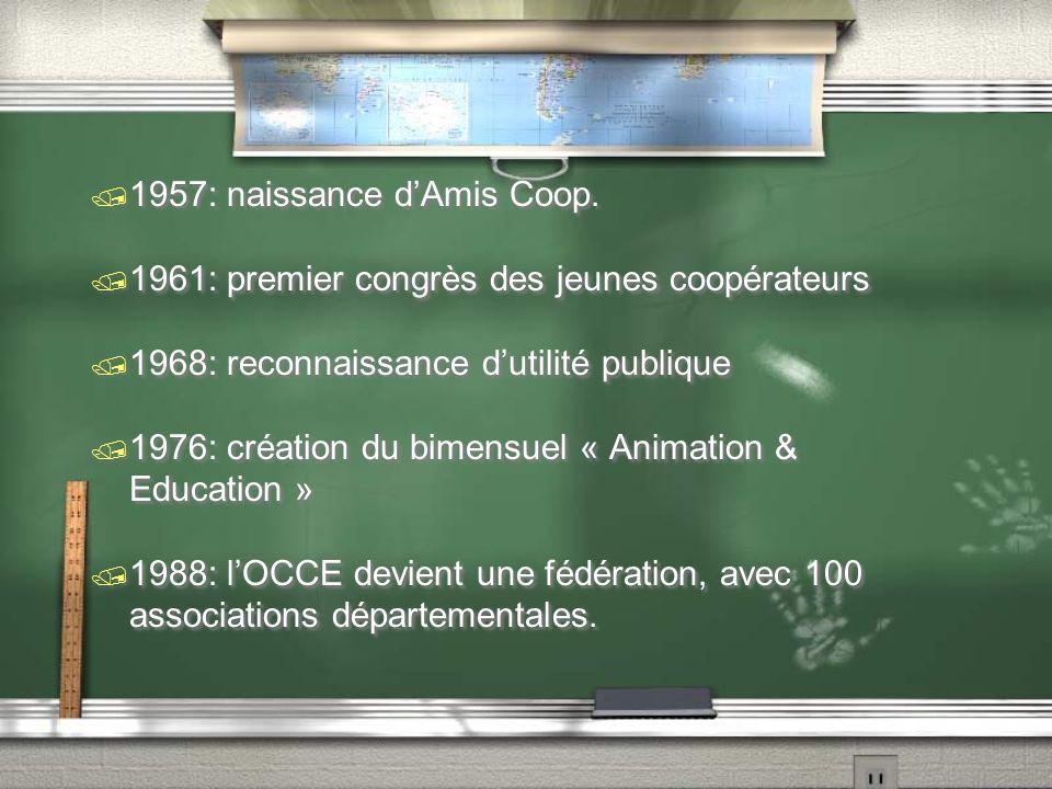 Congrès de Tours (1948) / Dans l'enseignement public, les coopératives scolaires sont des sociétés d'élèves gérées par eux avec le concours des maîtres en vue d'activités communes.