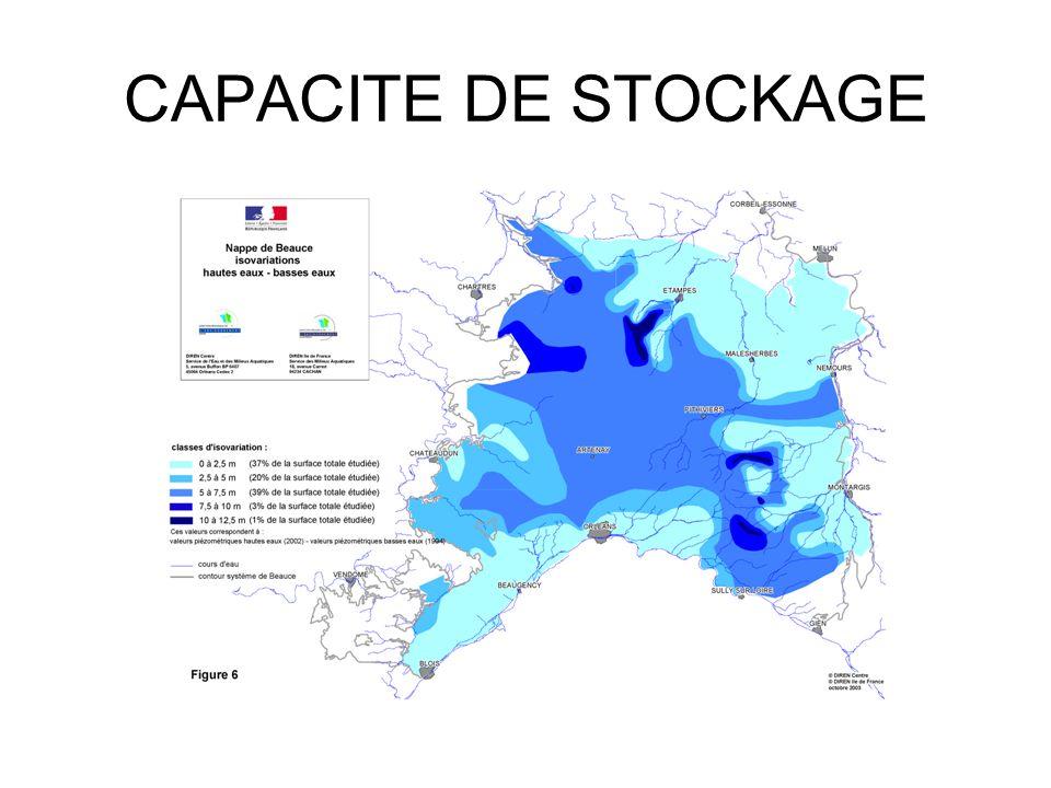 Indicateur Beauce centrale 112,85 m NGF au 22/05/11
