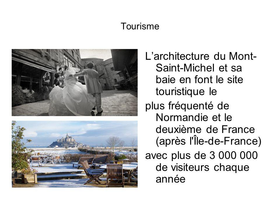 Les marées du Mont-Saint-Michel Deux fois par jour les marées du Mont- Saint-Michel envahissent la baie.